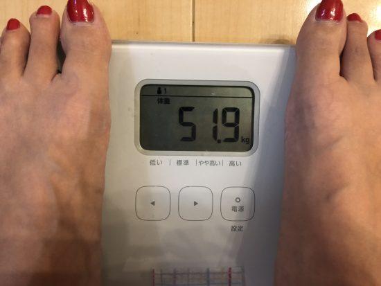 プッチェで体重増加